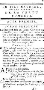 Diderot le Fils naturel