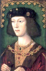 HenryVIII en 1509
