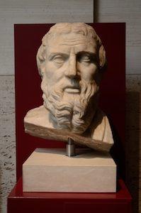 Buste d'Hérodote au Palazzo Massimo de Rome